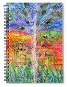 Vertical Space Spiral Notebook