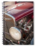 Very Cool Vintage 1930 Chrysler Hot Rod  Spiral Notebook