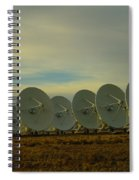 Very Large Array Near Socorro New Mexico Spiral Notebook