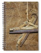 Very Old Ice Skates Spiral Notebook