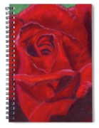 Very Red Rose Spiral Notebook