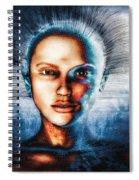 Very Social Network Spiral Notebook