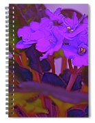 Very Violets  Spiral Notebook