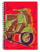 Vespa Spiral Notebook