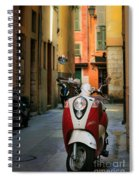 Nicoise Scooter Spiral Notebook