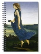 Vesper The Evening Star Spiral Notebook