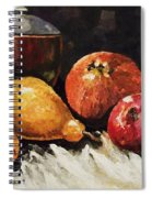 Vessel And Fruit Spiral Notebook