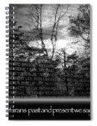 Veteran's Day  Spiral Notebook