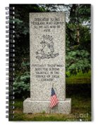 Veterans Memorial Spiral Notebook