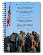 Veterans Remember Spiral Notebook