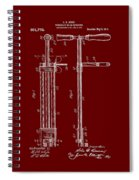 Veterinary Molar Extraction Patent 1911 Spiral Notebook