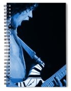 Vh #19 In Blue Spiral Notebook