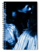 Vh #2 In Blue Spiral Notebook