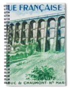 Viaduct Chaumont Haute-marne Spiral Notebook