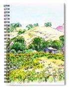 Viano Winery Martinez California Spiral Notebook