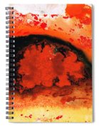 Vibrant Abstract Art - Leap Of Faith By Sharon Cummings Spiral Notebook