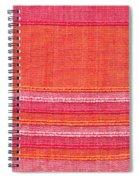Vibrant Cloth Spiral Notebook