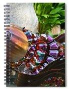 Vibrant Koi Spiral Notebook
