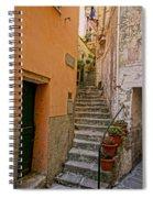 Vicolo Della Valle Riomaggiore Italy Dsc02537  Spiral Notebook