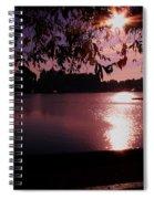 Victoria British Columbia Sunset Spiral Notebook