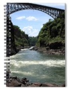 Victoria Falls Bridge - Zambia Spiral Notebook