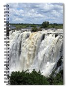 Victoria Falls View  Spiral Notebook