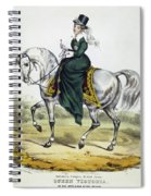 Victoria Of England, C1837 Spiral Notebook