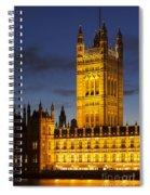 Victoria Tower - London Spiral Notebook