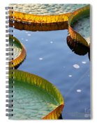 Victoria Waterlilies Spiral Notebook
