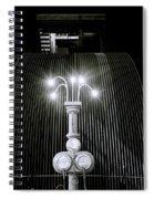 Beauty Of Light Spiral Notebook