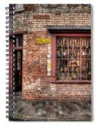 Victorian Corner Shop Spiral Notebook