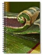 Victorian Curves Spiral Notebook