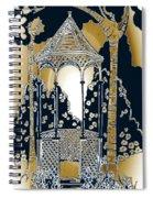 Victorian Gazebo 79 II Spiral Notebook