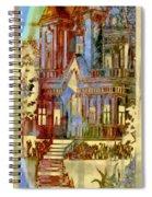 Victorian Home Dream Spiral Notebook