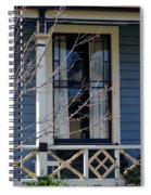 Victorian Home In Napa Valley Spiral Notebook