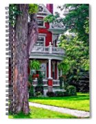 Victorian Home Spiral Notebook