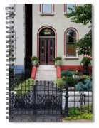 Victorian House Lafayette Sq St Louis Spiral Notebook