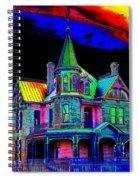 Victorian House Pop Art Spiral Notebook