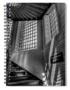 Victorian Jail Staircase V2 Spiral Notebook