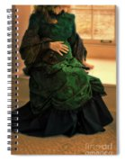 Victorian Lady Expecting A Baby Spiral Notebook