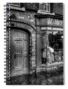 Victorian Menswear Spiral Notebook