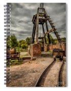 Victorian Mine Spiral Notebook