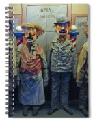 Victorian Musee Mecanique Automated Puppets - San Francisco Spiral Notebook