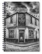 Victorian Pub Spiral Notebook