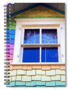 Victorian Rainbow Spiral Notebook