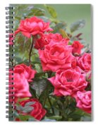Victorian Rose Garden Spiral Notebook