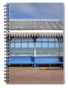 Victorian Shelter - Weymouth Spiral Notebook