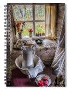 Victorian Wash Area Spiral Notebook