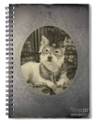 Victorian Westie Spiral Notebook