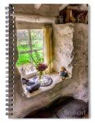 Victorian Window Spiral Notebook